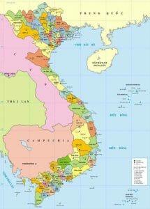 Vietnam Location