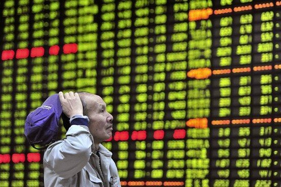 Chinese Shares Enter Correction Territory
