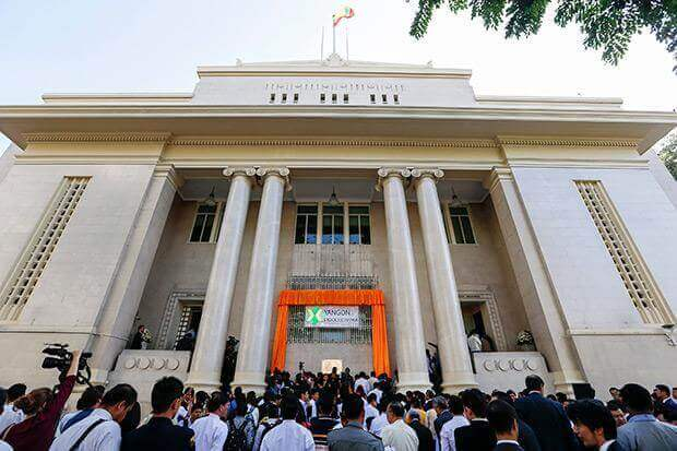 Myanmar's First Stock Exchange Goes Live