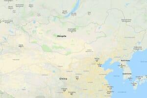 Mongolia-Map