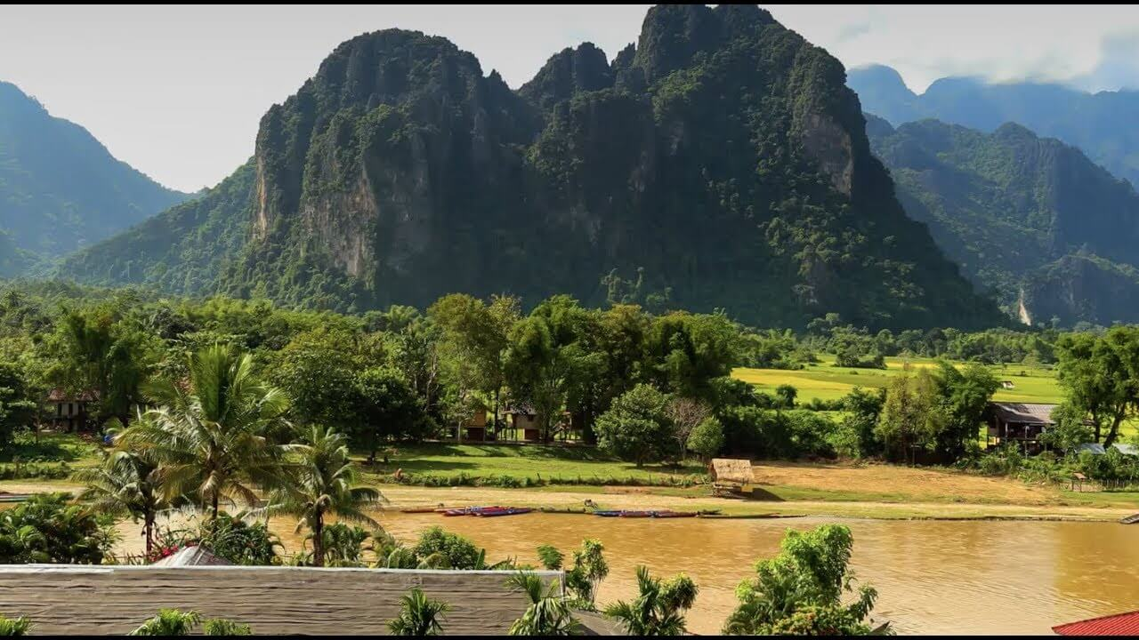Lao-Mountains