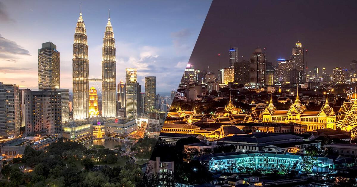 Bangkok vs. Kuala Lumpur